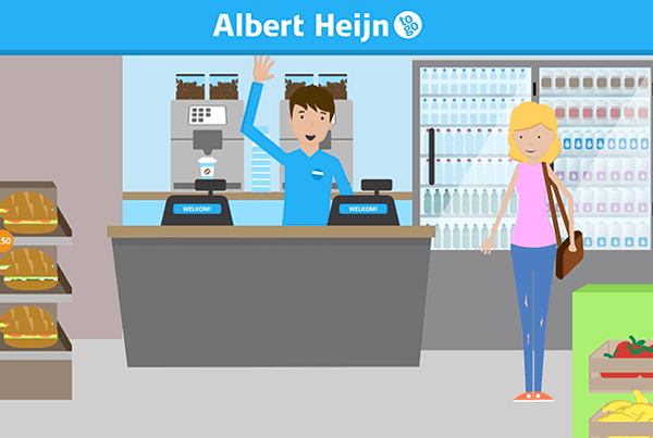 Albert Heijn – AH To Go Advanced Explanimation