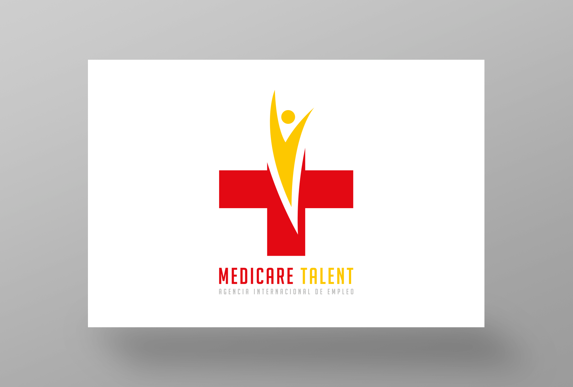 MediCare Talent Logo Staand