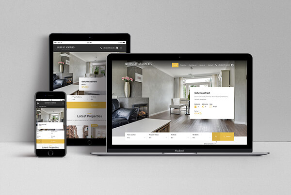 Golden Key Apartments Website
